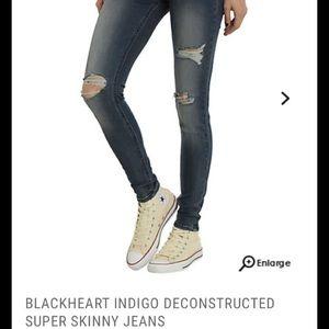 Denim - 🌺Blackheart soft and stretchy jeans.